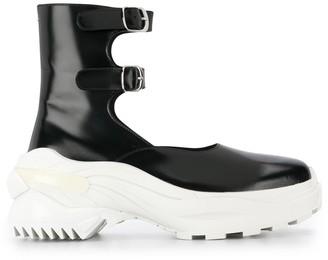 Maison Margiela Platform Ankle Straps Sneakers