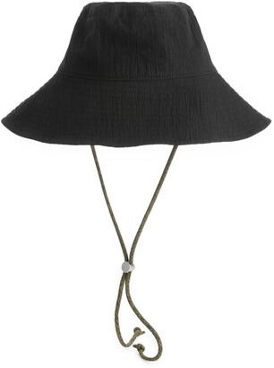 Arket Seersucker Bucket Hat