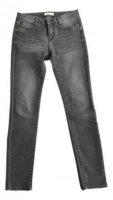 BA&SH Fall Winter 2019 Grey Cotton - elasthane Jeans