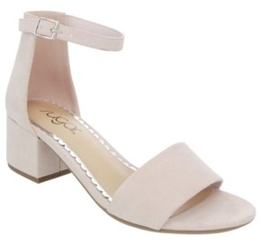 Sugar Women's Noelle Block-Heel Sandals Women's Shoes