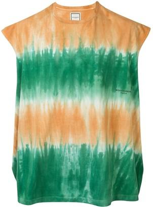Wooyoungmi tie-dye sleeveless T-shirt