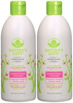 Nature's Gate Volumizing Shampoo - Awapuhi - 18 oz - 2 pk