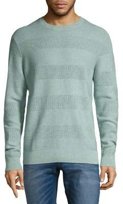 Black & Brown Black Brown Crewneck Cotton Sweater