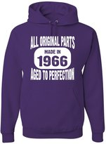 Go All Out Screenprinting Adult Made In 1966 All Original Parts Aged To Perfection Sweatshirt Hoodie