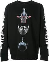 Marcelo Burlon County of Milan Muzzles crewneck sweatshirt