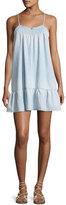 Soft Joie Kunala Chambray Tank Dress, Blue