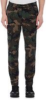 Valentino Men's Camouflage Virgin Wool Drawstring Pants-DARK GREEN