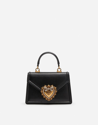 Dolce & Gabbana Small Smooth Calfskin Devotion Bag