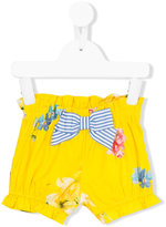 Lapin House - floral print elasticated shorts - kids - Cotton/Spandex/Elastane - 18 mth