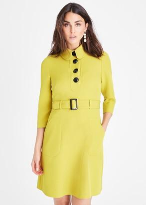 Phase Eight Adie Button Detail Dress