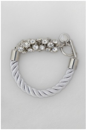 French Connection Rope T-Bar Bracelet