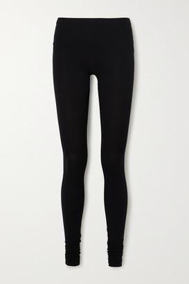 Rick Owens Lilies Stretch-jersey Leggings - Black