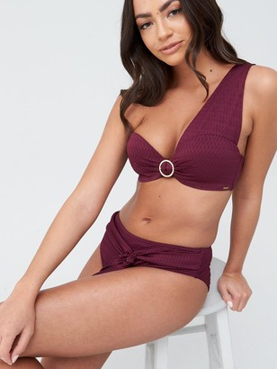 Boux Avenue Capri High Waist Bikini Brief - Lipstick