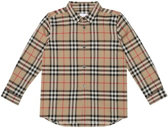 BURBERRY KIDS Vintage Check cotton shirt