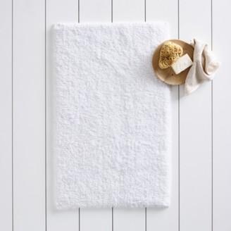The White Company Portobello Bath Mat, White, Medium