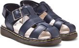 Dr. Martens Navy Moby Infants Fisherman Sandals