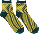 Kolor Green Striped Socks