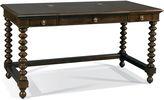 Hickory White Novella Spindle Desk, Brown