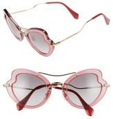 Miu Miu Women's 52Mm Sunglasses - Bordeaux