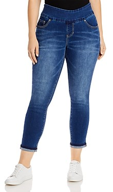 Jag Jeans Amelia Ankle Jeans With Cuffed Hems in Kodiak Blue