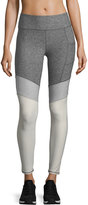 X by Gottex Colorblock-Cuffs Performance Leggings