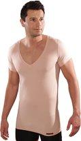 ALBERT KREUZ men's invisible deep V-undershirt Coolmax-cotton dry skin, S