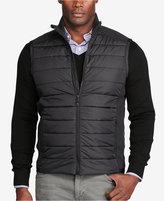Polo Ralph Lauren Men's Big & Tall Paneled Full-Zip Vest