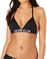 Calvin Klein Intense Power Triangle Bikini Top with Removable Cups