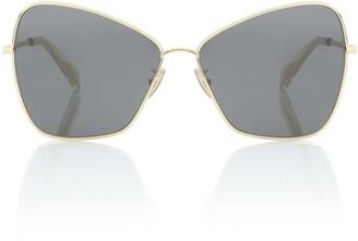 Celine Square metal sunglasses
