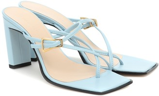 Wandler Yara leather sandals