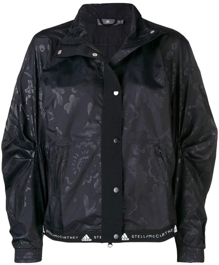 adidas by Stella McCartney printed running lightweight jacket