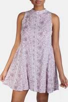 En Creme Paisley Trapeze Dress