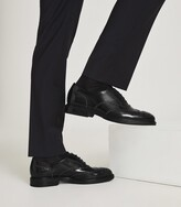 Thumbnail for your product : Reiss Linn - Studded Leather Brogues in Black