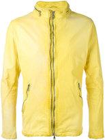 Giorgio Brato zipped jacket - men - Cotton/Leather/Nylon - 48