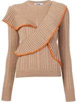 MSGM ruffled jumper