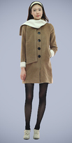 Cuff Sleeve Coats by Beny & Hizzin