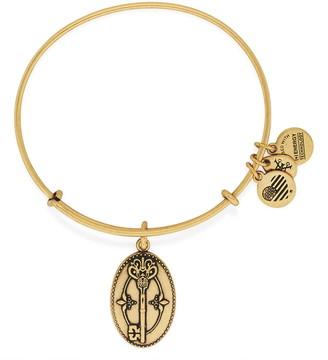 Alex and Ani Key to Life Charm Expandable Wire Bracelet