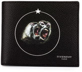 Givenchy Monkey Brothers Bifold Wallet, Black