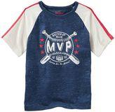 "Osh Kosh Boys 4-12 Raglan ""MVP Crew"" Baseball Tee"