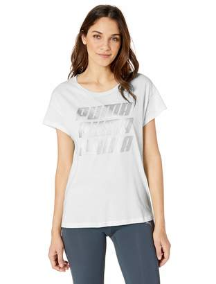 Puma Women's Modern Sports Graphic Tee Shirt