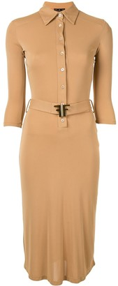 Fendi Pre Owned Long Sleeve One Piece