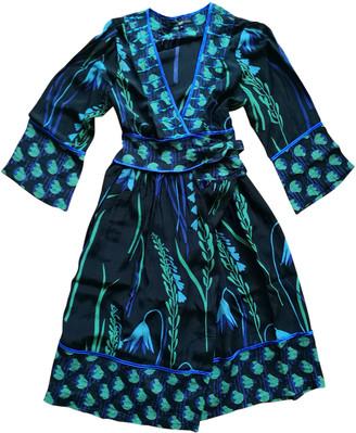 Non Signã© / Unsigned Kimono Black Cotton Dresses