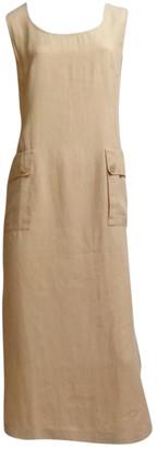 Pierre Cardin Beige Linen Dresses