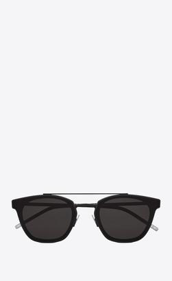 Saint Laurent Classic Sunglasses Classic Sl 28 Metal Mat Black Onesize
