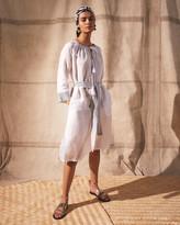 Jigsaw Liya Linen Belted Midi Dress