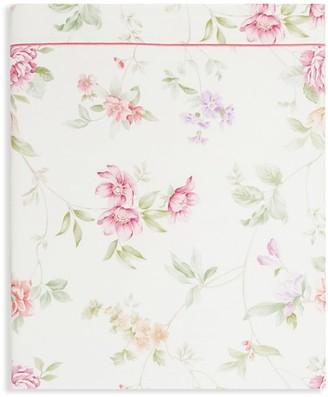 Anne De Solène Josephine Full Floral Flat Sheet