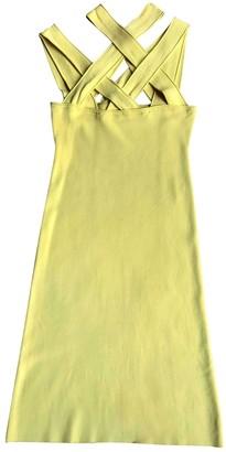 Givenchy Yellow Viscose Dresses