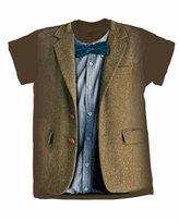 Doctor Who Matt Smith 11th Blue Bow Tie Mens Shirt (Xxl)