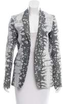 Reed Krakoff Notch-Lapel Textured Blazer