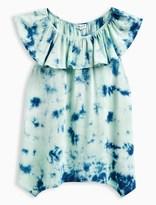Splendid Girl Allover Tie Dye Voile Top